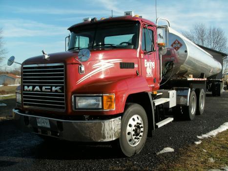 Mack Tanker Truck