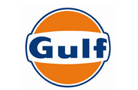 Gulf Gasoline logo links to Gulf Gasoline website